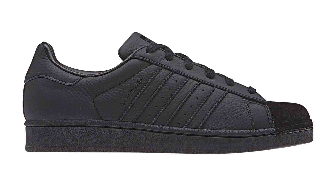 new style 36e74 b04c1 adidas Superstar w Core Black