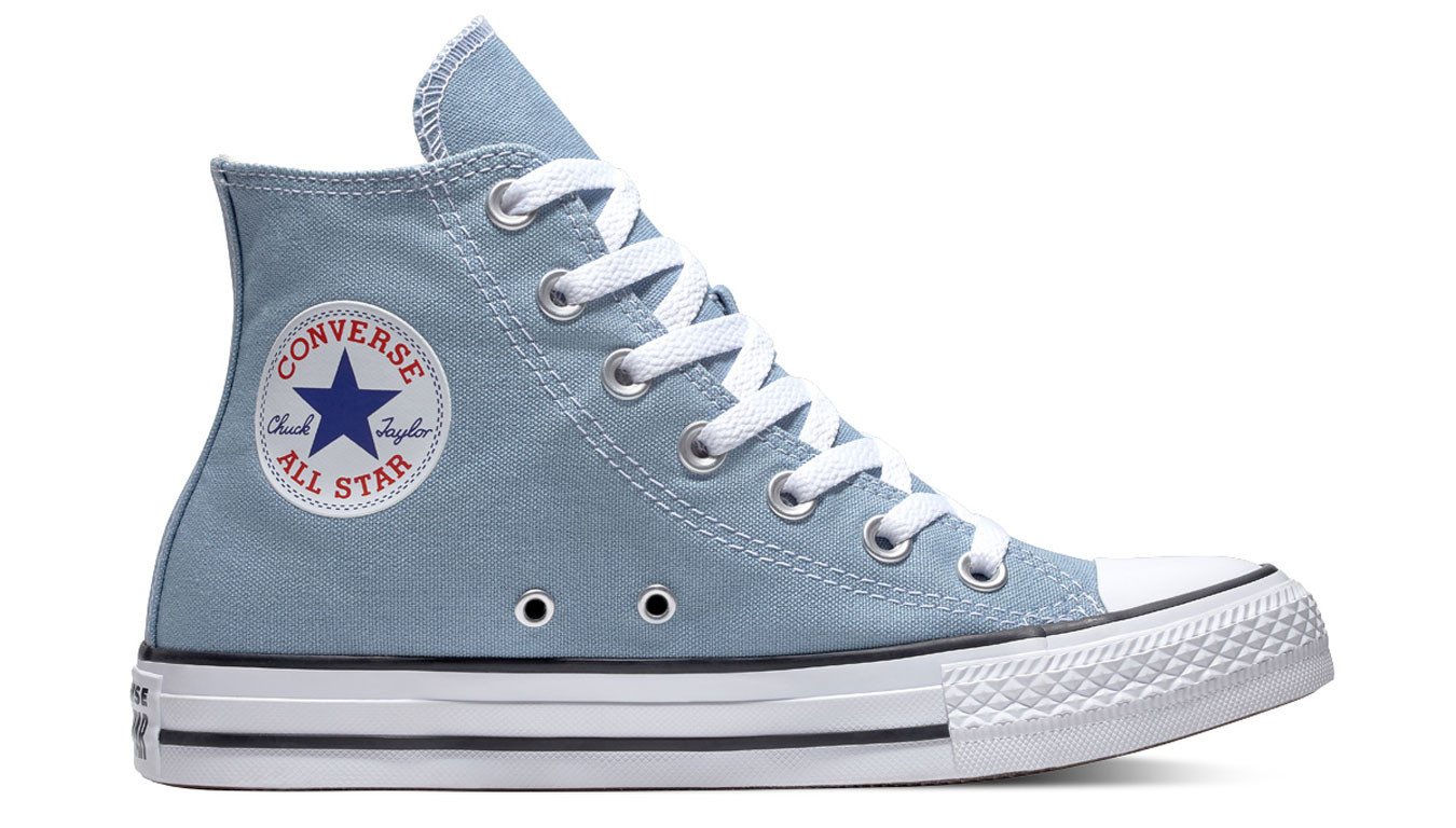 98efd854479 Converse Chuck Taylor All Star Classic High Top Washed Denim