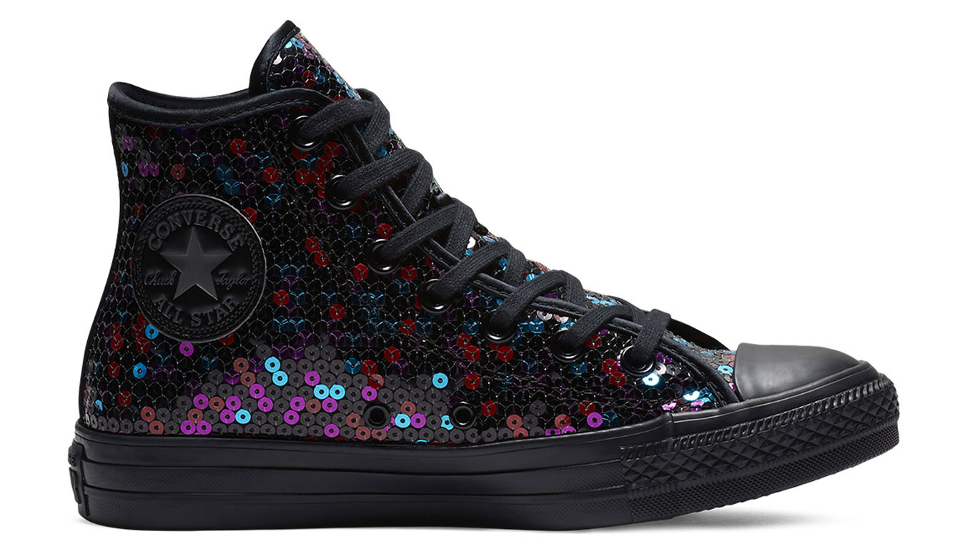1fc227c8db0a31 Converse Chuck Taylor All Star Holiday Scene Sequin High Top