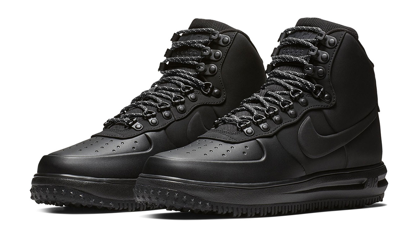 4f5b82964fddf Black sneakers Nike lunar force 1 duckboot '18 - 136£ | BQ7930-003 ...