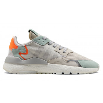 huge discount 29ef0 4e46a adidas Nite Jogger Clear Grey