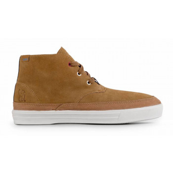 13e2bdc1a SALE Chrome Industries Forged Suede Chukka Boot Golden Brown Off White